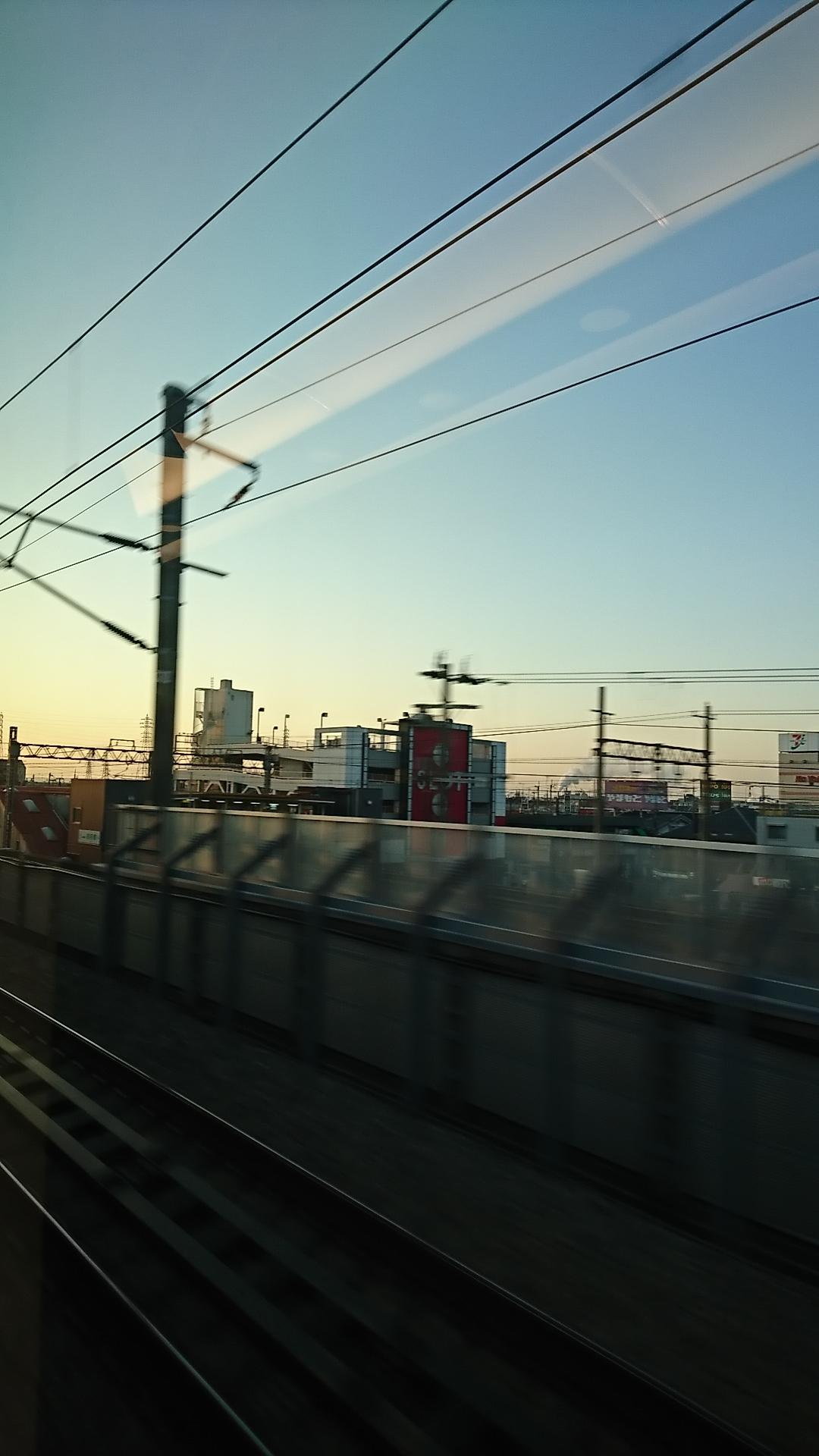 20200114:新幹線からの日の出03